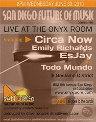 SDFOM LIVE at the Onyx Room by seedsix
