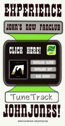 John Johns Album Release Ad by seedsix