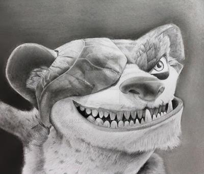 Buck the Weasel by MKho