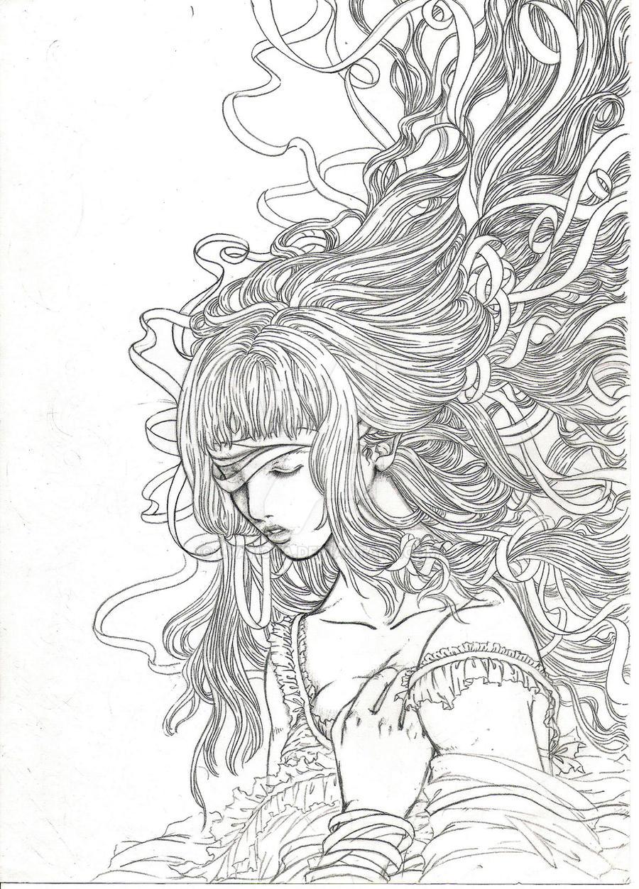 Broken Maiden by lyanora