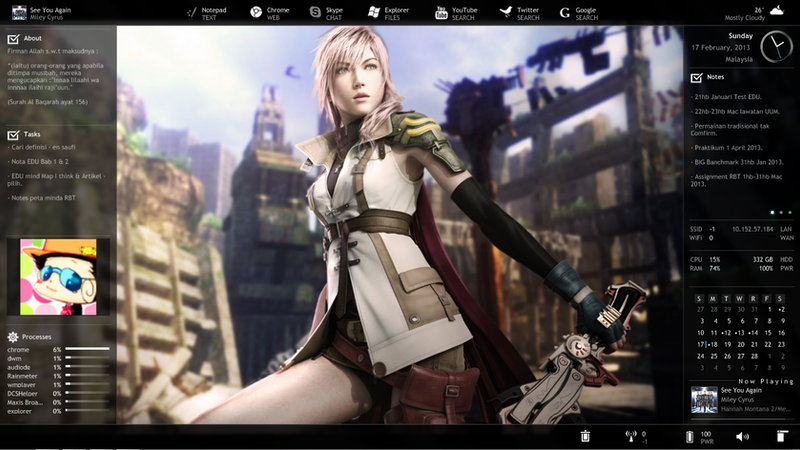 Desktop February 2013 by lyanora
