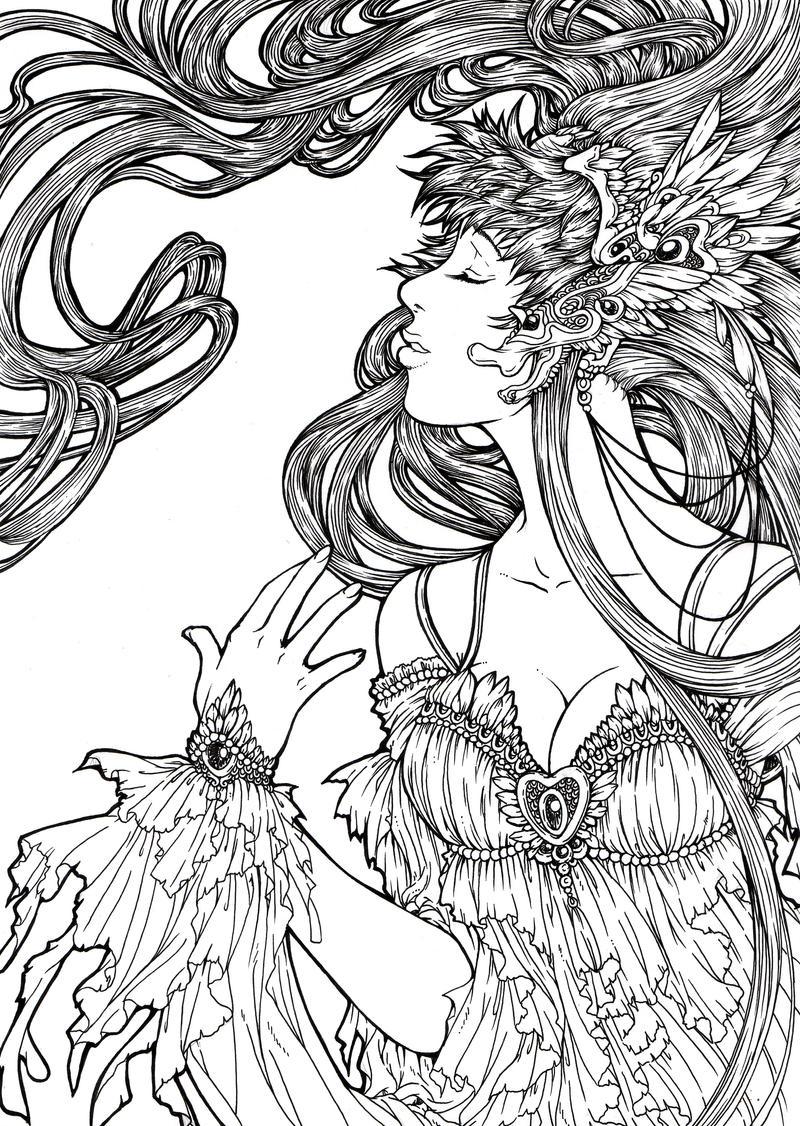The Wind Goddess by lyanora