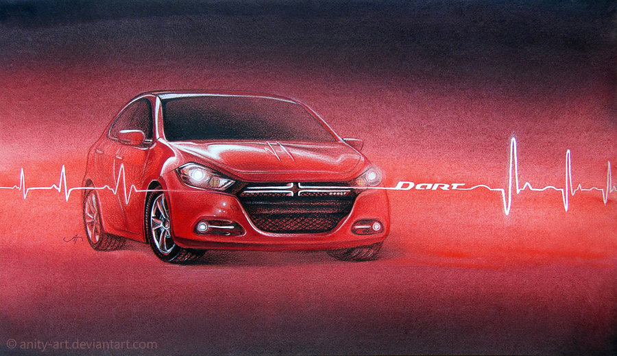 Dodge Dart heartbeat by Anity-art