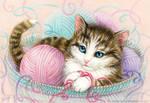 Soft kitty, warm kitty by Anity-art