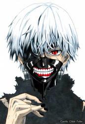 Kaneki Ken (Tokyo Ghoul) by CobraxKinana