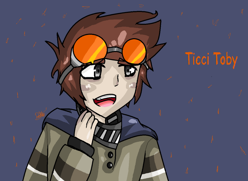 how to draw ticci toby
