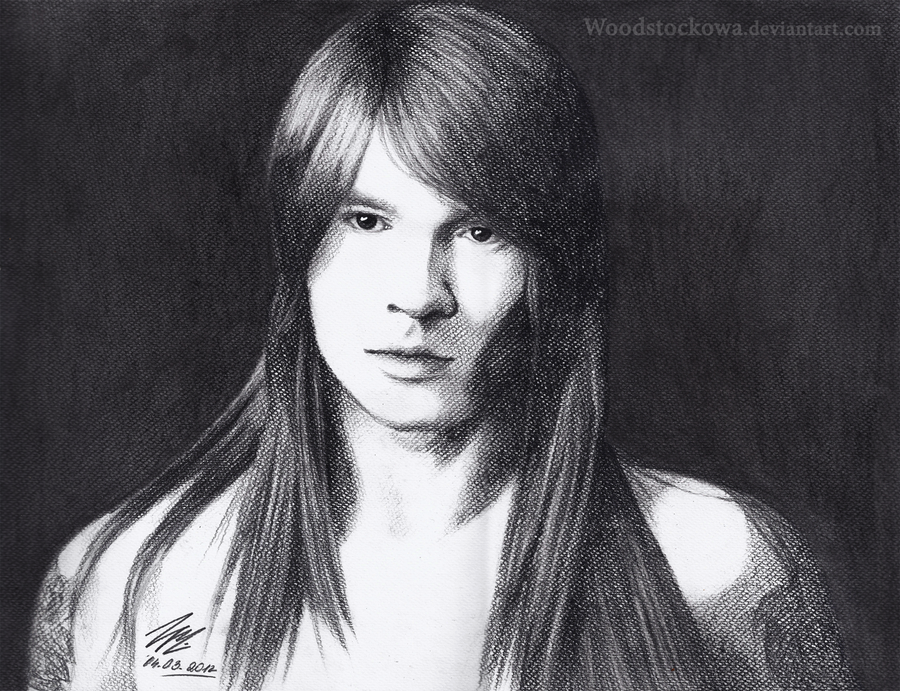 Axl Rose by Woodstockowa