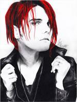 Gerard Way by Woodstockowa