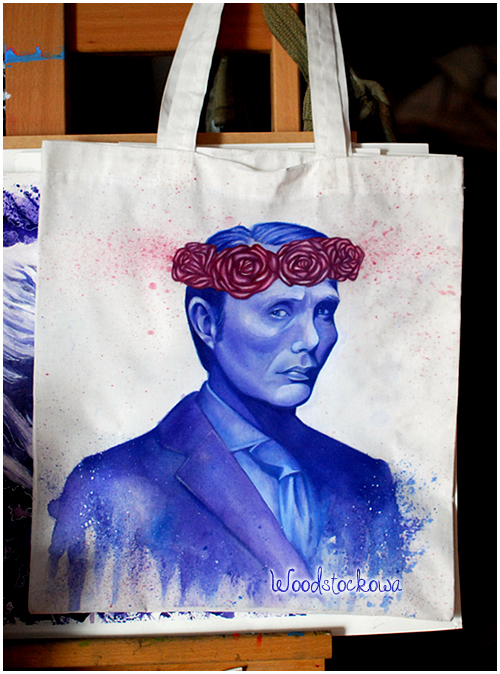Hannibal bag by Woodstockowa