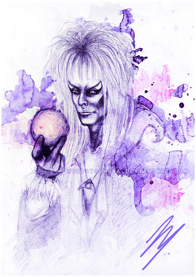 Jareth (David Bowie) - Labyrinth by Woodstockowa
