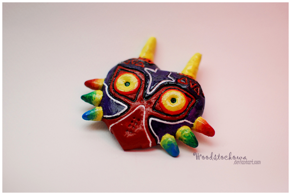 Majora Mask by Woodstockowa