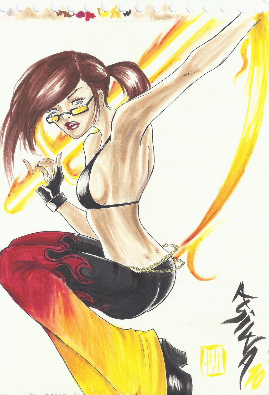 Firesword by LadyEntropy