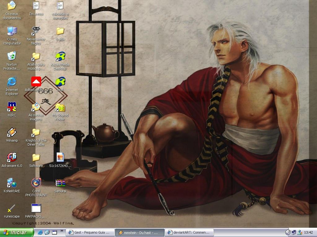 Dante Sexy Samurai Desktop
