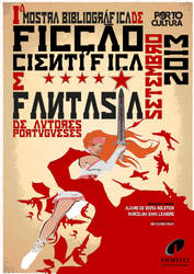 Portuguese SciFi and Fantasy Exhibit Poster