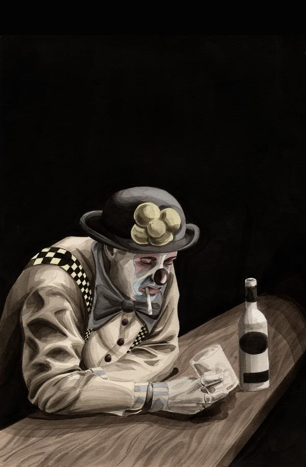 sad clown by jtaylor688 on deviantart