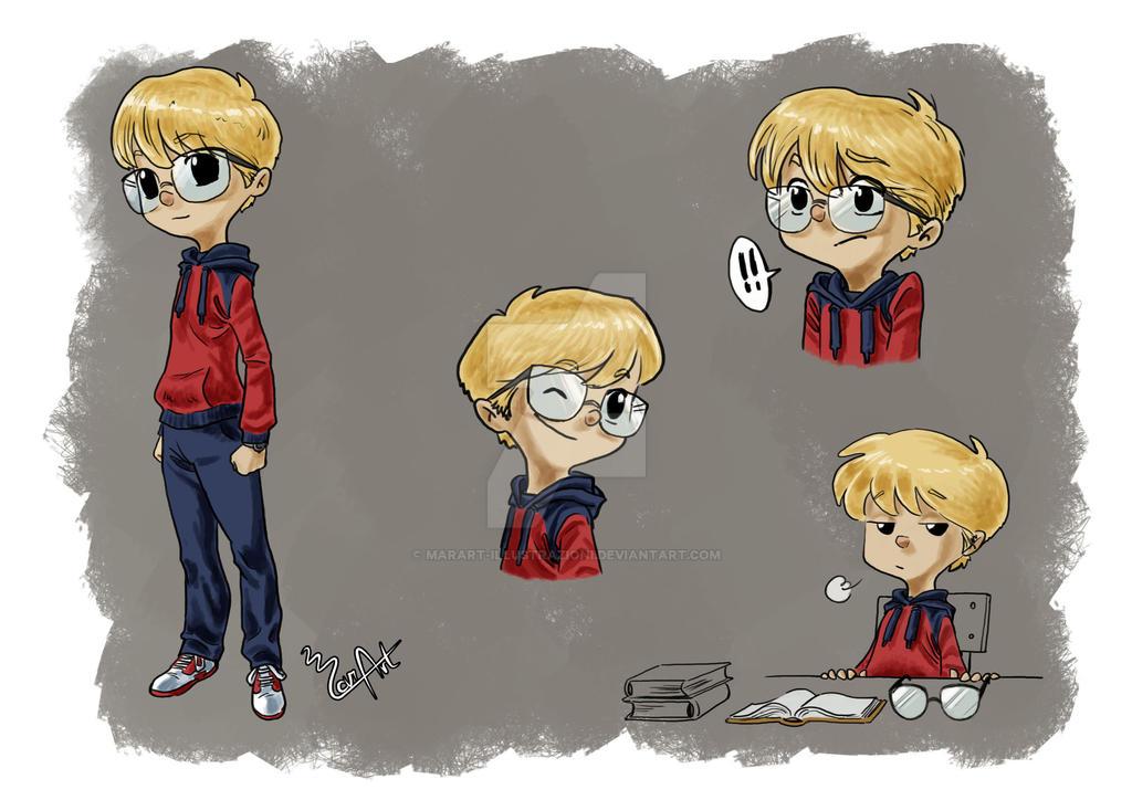 Character Study - Kid by MarArt-Illustrazioni
