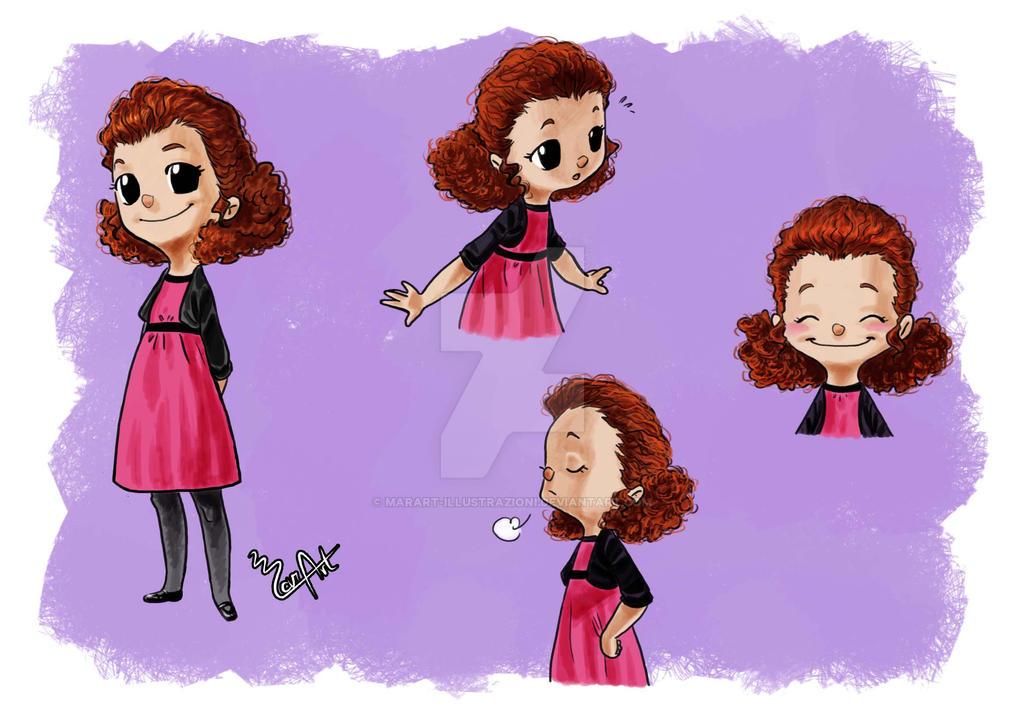 Character Study - Girl by MarArt-Illustrazioni