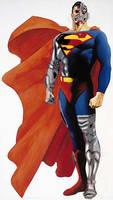 Alex Ross cyborg superman by paul626
