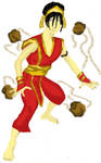 Toph Bei Fong fire outfit