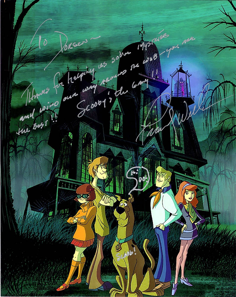 Scooby-Doo and Freddy Jones by leftforever
