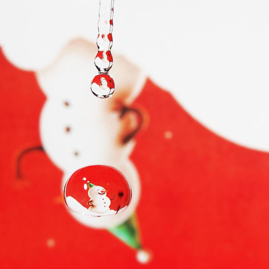 Snowman by Kara-a