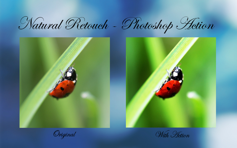 Natural Retouch - Photoshop Action by =Kara-a