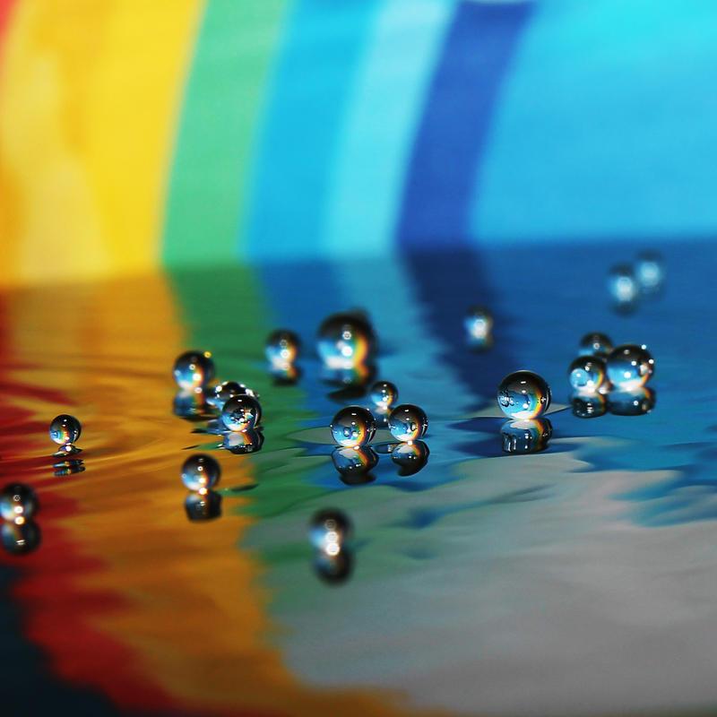 Floating Rainbows by Kara-a