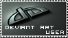 dA User Stamp by CaL1BuR