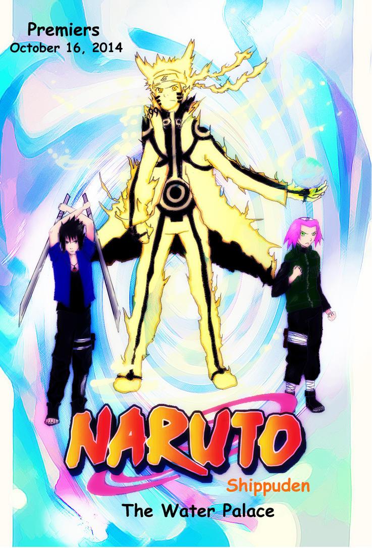 Naruto the last poster