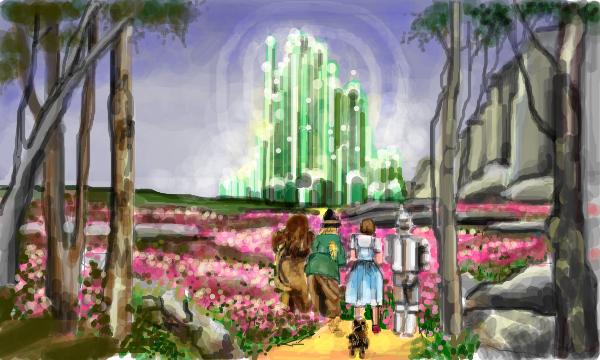 emerald city by starzshine