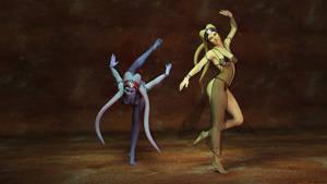 Two Twi'Lek Dancers