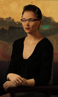 17 - A Kind Of Art: Modern Mona by Edheldil3D