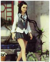 Rosemarie: Asia by Edheldil3D