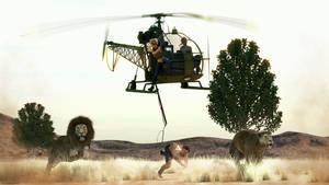 Men Hunting by Edheldil3D