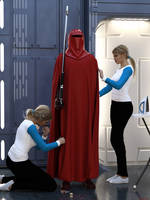 Dress Rehearsal: Emperor's Royal Guard by Edheldil3D