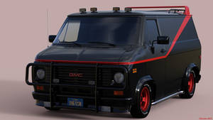 The A-Team Van by Edheldil3D