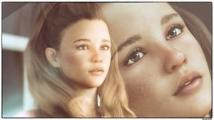 Teenager Portrait by Edheldil3D