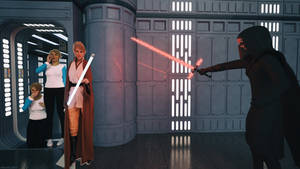 Fooling The Dark Side ! by Edheldil3D