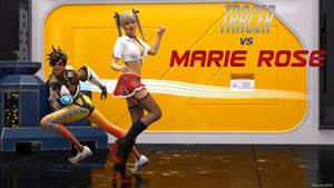 OV Tracer vs DOA Marie Rose by Edheldil3D