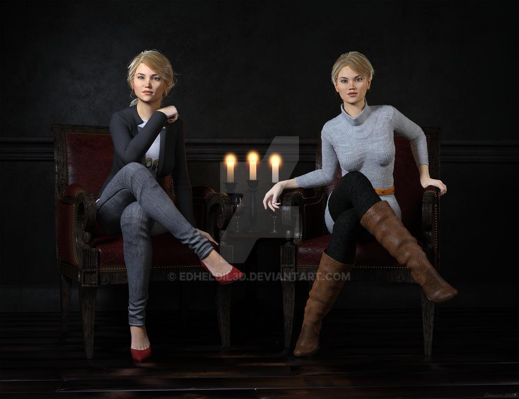 The Sisters Ltd. by Edheldil3D