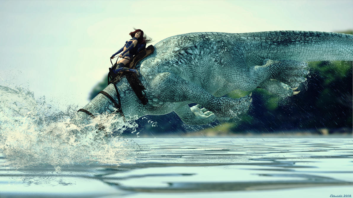 My Seadragon by Edheldil3D