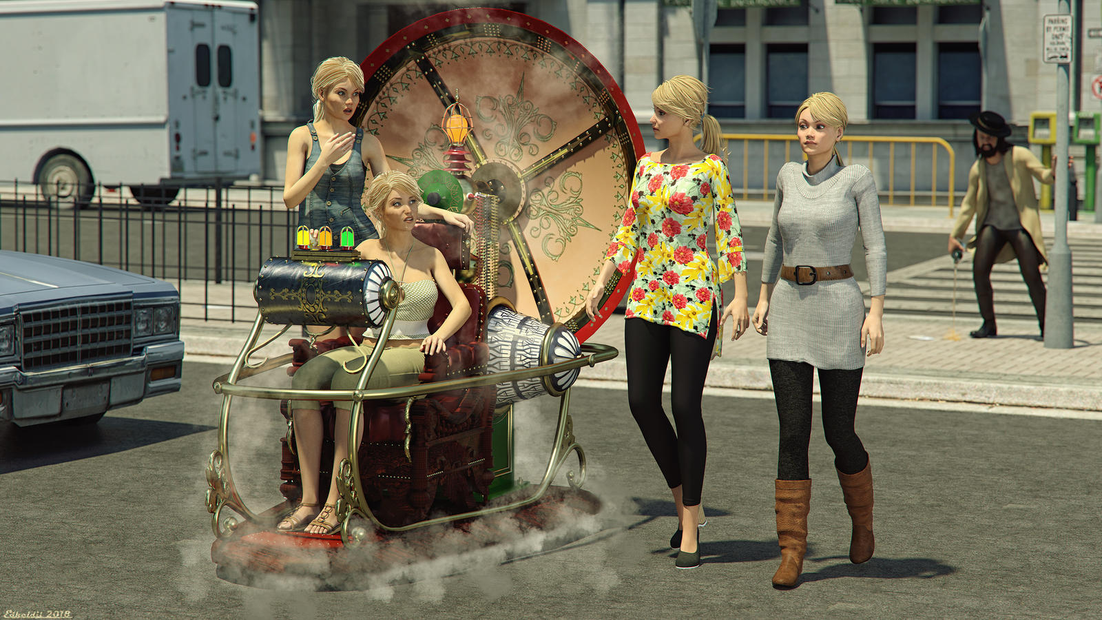 The TimeMachine by Edheldil3D