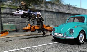 Speedergirls by Edheldil3D