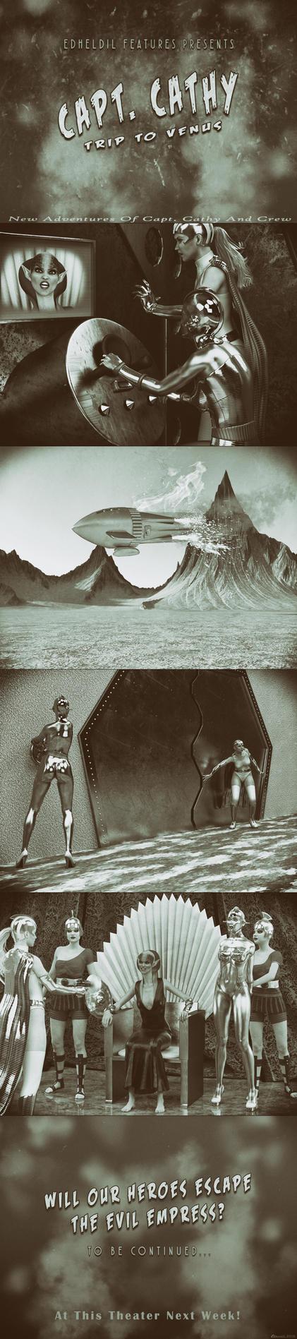 CCC: Trip To Venus by Edheldil3D