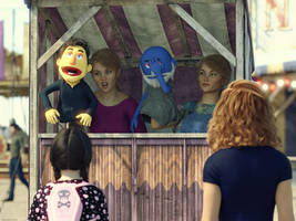 The Puppet Show! by Edheldil3D