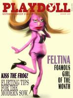 Playdoll - Cover Girl Feltina by Edheldil3D