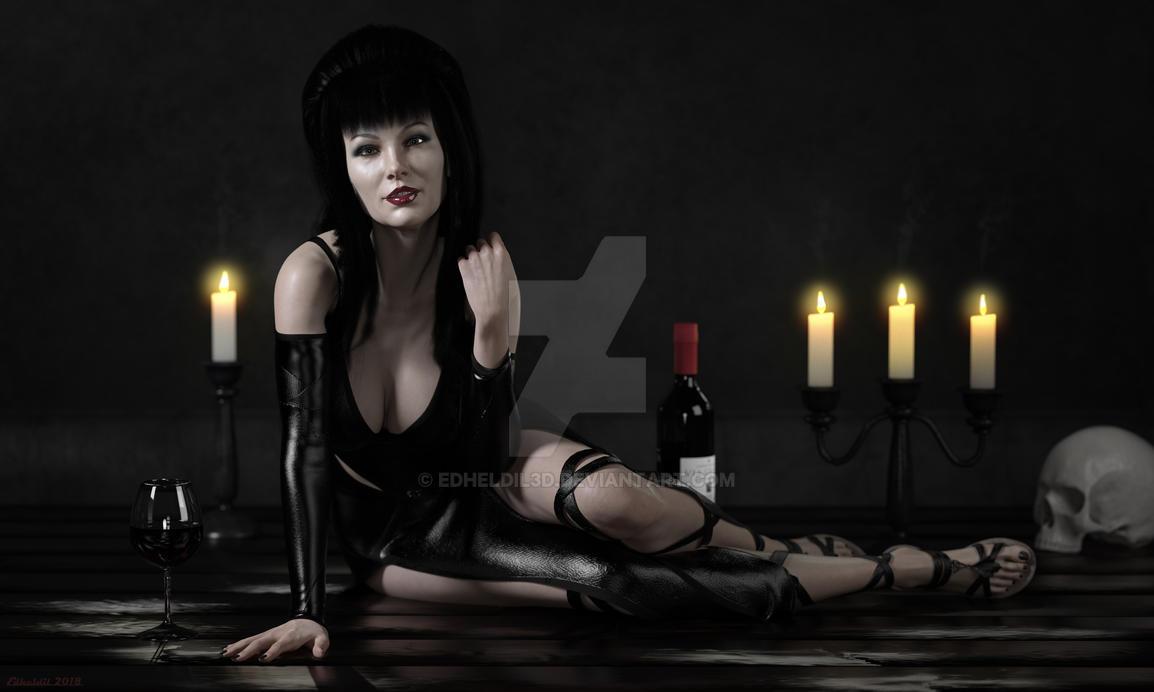 Elvyra, Mistress Of Seduction by Edheldil3D