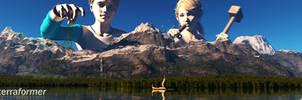 Terraformer by Edheldil3D
