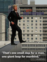 One small step for a man.... by Edheldil3D