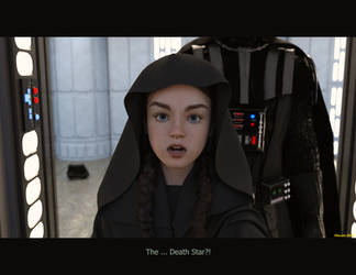 23 - Star Girls - The new DeathStar by Edheldil3D